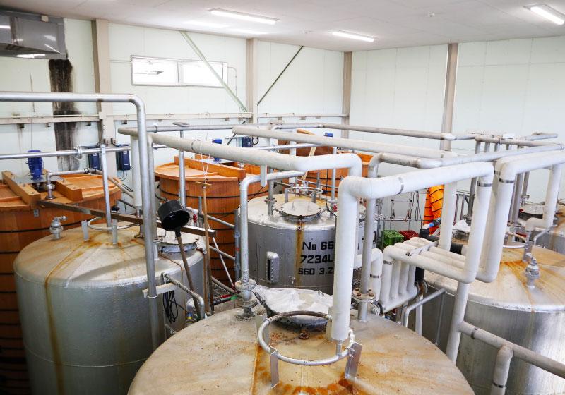 ウイスキー 醗酵樽