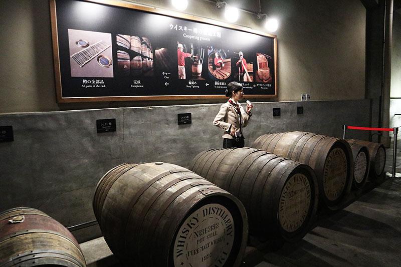 ウイスキー樽の説明