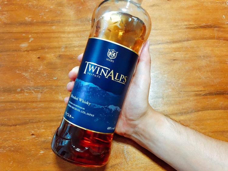 ツインアルプス ウイスキー