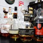 ウイスキーが並んでいる写真