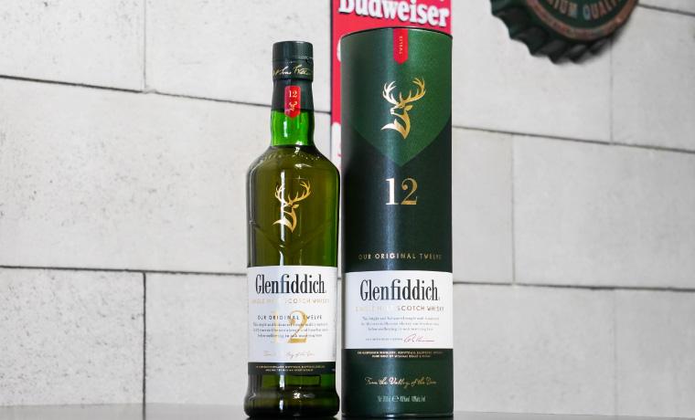 グレンフィディック12年 ボトルの写真